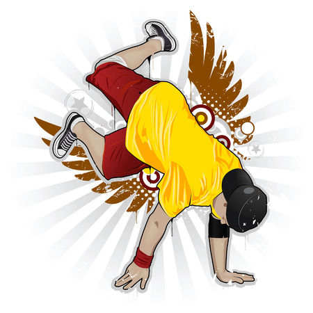 Cool image with breakdancer and street style attributes