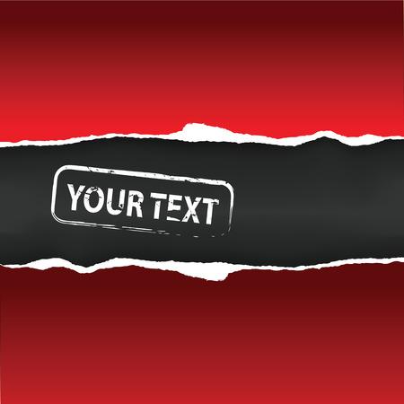 fragmentary: Red papel fragmentario con lugar para texto