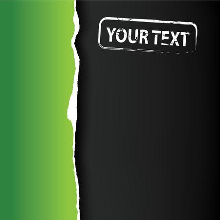 fragmentary: Libro Verde de fragmentario con lugar para texto