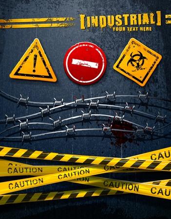 road texture: Elementi grunge industriali interessati a predisporre
