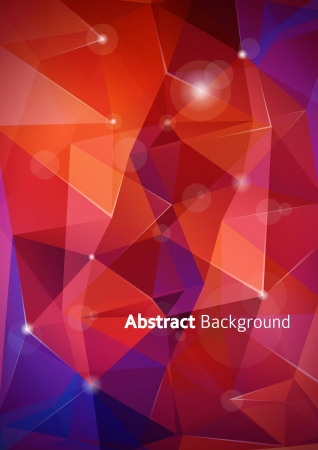 Abstract polygon background  Vector illustration  Vector