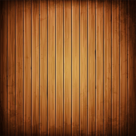 Wooden plank background. Realistic wood texture illustration.