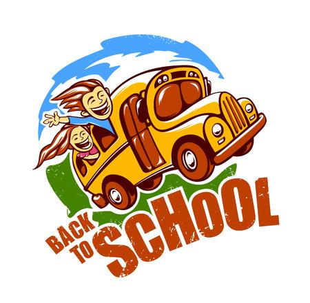 Volver a la plantilla de diseño de la escuela. Foto de archivo - 44109417
