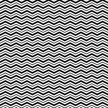 Seamless Pattern with Triangle Wave Lines. Vector endless texture.