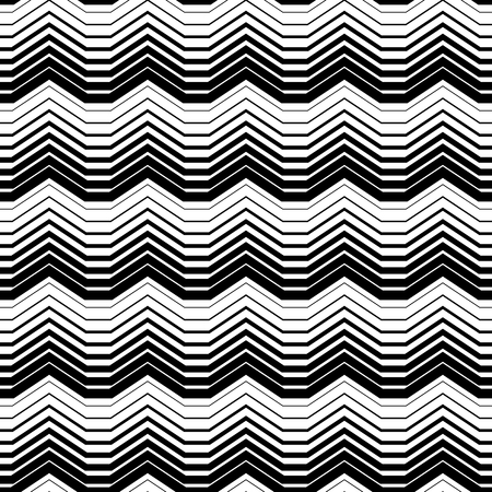 Abstract Monochrome Seamless Pattern. Vector endless texture.