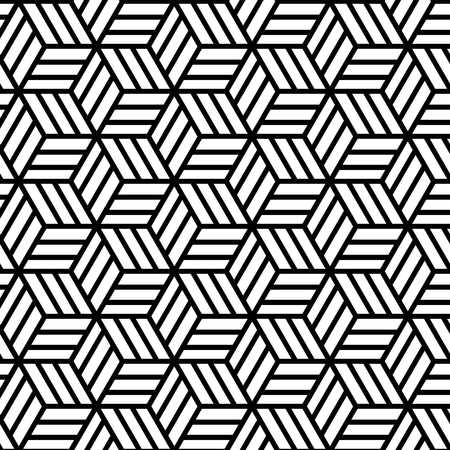 Abstract Geometric Seamless Pattern. Vector endless texture. Banque d'images - 121707090