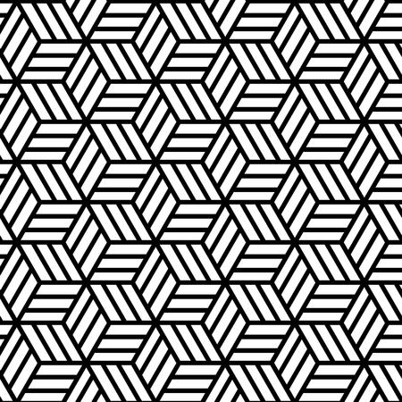 Abstraktes geometrisches nahtloses Muster. Vektor endlose Textur. Vektorgrafik