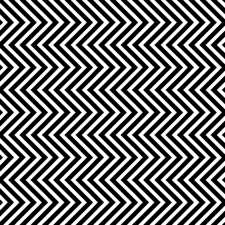 Seamless Pattern with Vertical Triangle Waves. Vector endless texture.