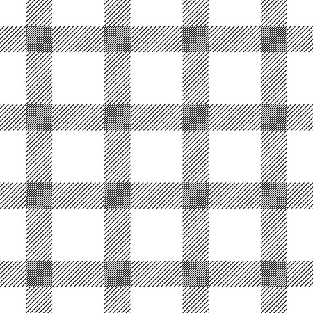 Textile Checkered Seamless Pattern. Vector endless texture. Ilustracja
