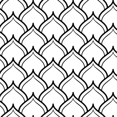 Arabian Seamless Pattern. Vector endless texture.