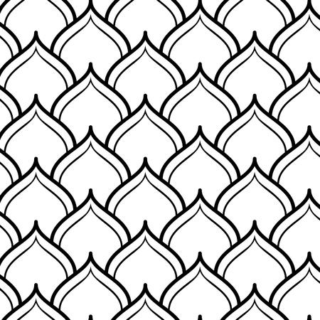 Arabian Seamless Pattern. Vector endless texture.