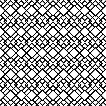 Seamless Pattern with Rhombus Shapes. Vector endless texture. Ilustracja