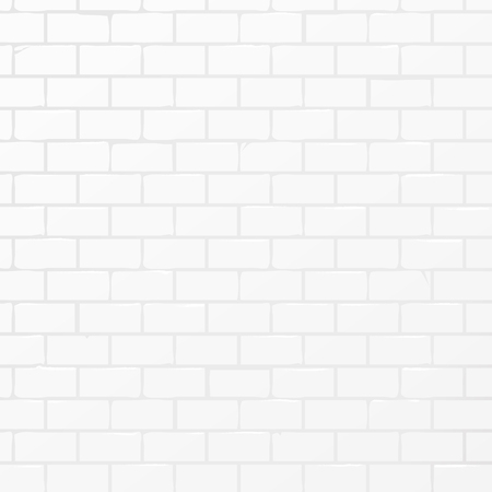 White Soft Light Brickwall Background. Vector art.