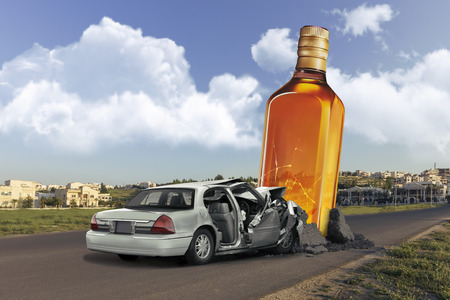 Don`t drink and drive Stock Photo