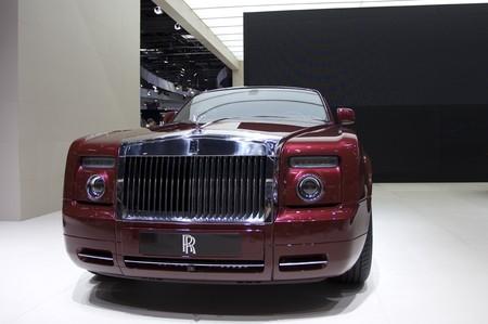 Paris Motor Show 2010 in Paris, showing Rolls Royce Ghost