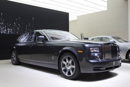 Paris Motor Show 2010 in Paris, showing Rolls Royce Phantom Extended Wheelbase