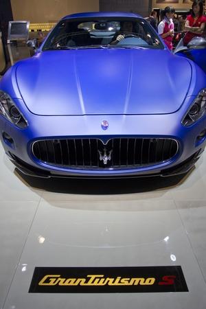 Paris Motor Show 2010 in Paris, showing Maserati GranTurismo S