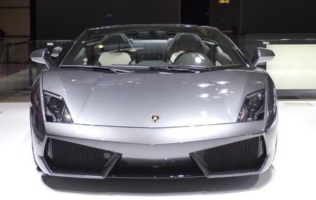 Paris Motor Show 2010 in Paris, showing Lamborghini Estoque Stock Photo - 8322104