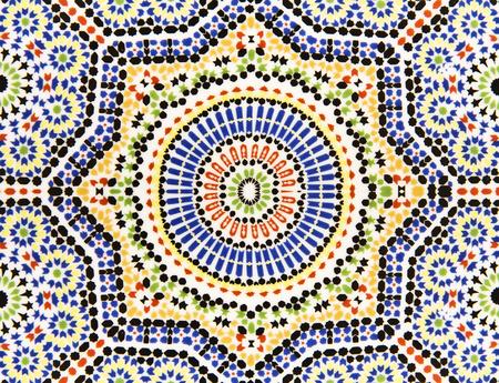 abstract islamic and arabic art Motifs pattern mosaic Фото со стока - 124977519