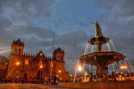 plaza de armas: Plaza de Armas, Cuzco Editorial