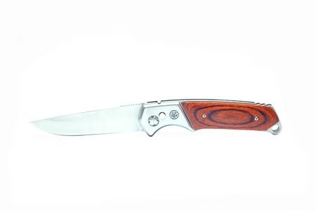 clasp knife: knife isolated on white background