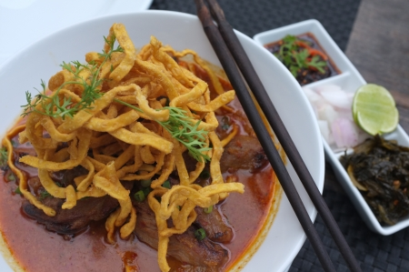 soi: Kao Soi , North Thai Food
