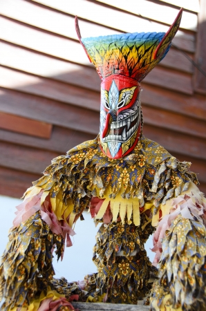 Phi Ta Khon , local festival in Thailand Stock Photo - 16449286