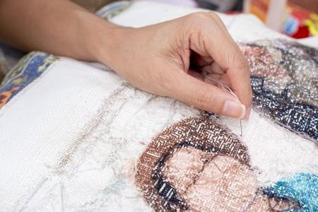 avocation: Cross stitch Handcrafts
