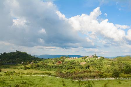wang: hermosa vista desde Wang Nam Keaw mountian, Tailandia, viajes