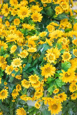 tree marigold: plastic flower tree marigold models, beautiful