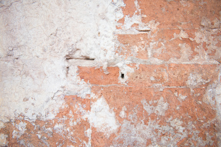wornout: Old and dilapidated walls for background, worn-out
