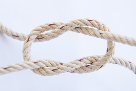 rope with knot for a bundle, lasso