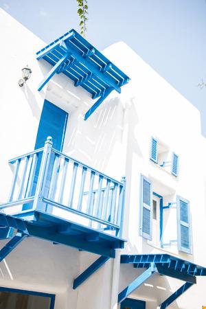 beautiful house santorini style, home