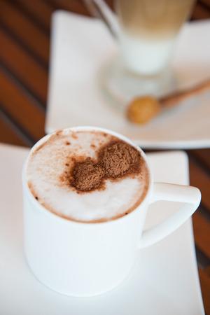 caffeine: hot coffee for drink, caffeine Stock Photo