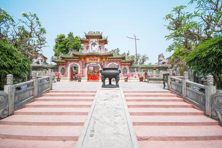 Hoi An - Vietnam Mar 16 :  Phuc Kien Assembly Hall in Hoi An ancient town on Mar 16, 2015 Vietnam
