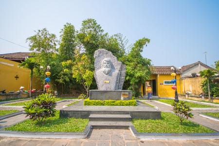 kazimierz: Hoi An - Vietnam Mar 16 :  statue of kazimierz kwiatkowsky at Hoi An ancient town on Mar 16, 2015 Vietnam