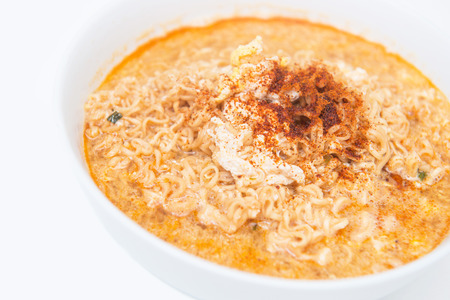 quickly: instant noodle quickly cooking for eat, cuisine