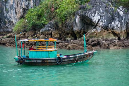 halong: Halong bay, Vietnam mar 13:: Numerous islands at Halong Bay on March 13, 2015 Editorial