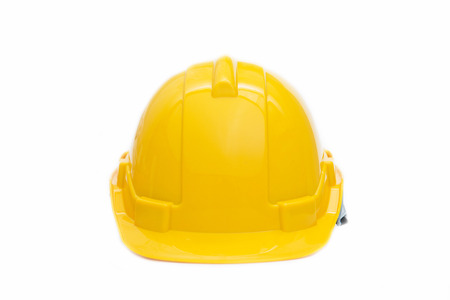yellow halmet safety for head, hard hat Фото со стока - 39267388