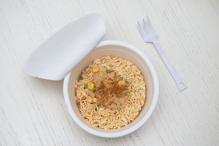 malnutrition: instant noodle quickly cooking for eat, cuisine
