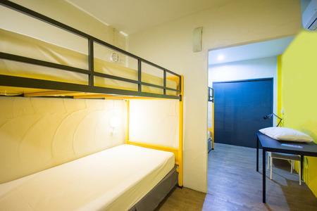 bunk: Bunk Beds in sleeping room, hostel