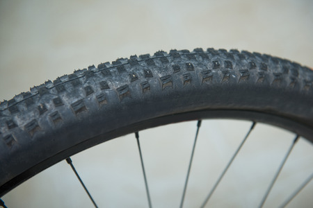 tread: tread part of bicycle Wheel, sport