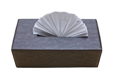tissue paper: tissue paper in box, clean Stock Photo