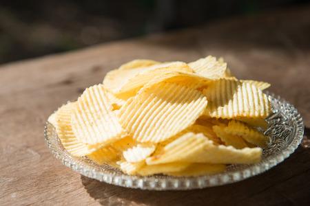 most popular: potato chip most popular snack, eat