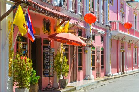 soi: Phuket old town on July 8, 2015 Phuket, Thailand, Soi Rommanee