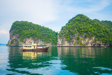 krabi: Lagoon Koh Hong, Krabi, Thailand, nature