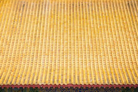 beautiful roof tile of chinese temple, Kek Lok Si temple Penang Malaysia Stock Photo