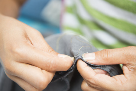 pivot: Sewing with needle and thread, clothing repair