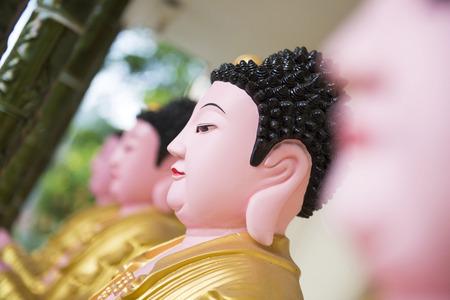 chinese buddha: buddha statue kek lok si temple in Penang, Malaysia
