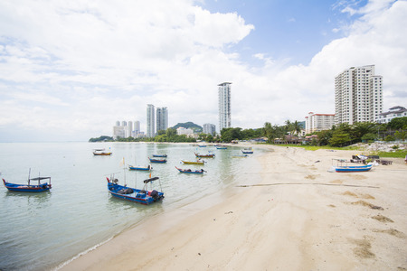 george: beach at george town, Penang Malaysia, travel
